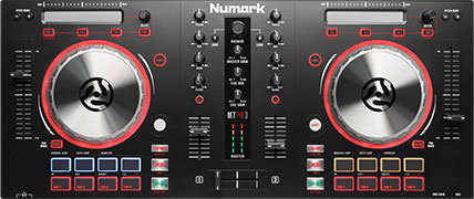 Numark Mixtrack 3 and 3 Pro
