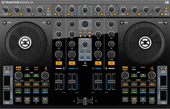 Native Instruments controllers with Flow 8 Deck