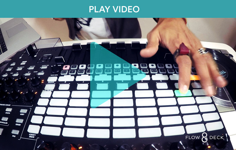 Use Akai Controllers with Flow 8 Deck Video