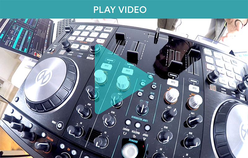 Use Native Instruments Controllers with Flow 8 Deck Video