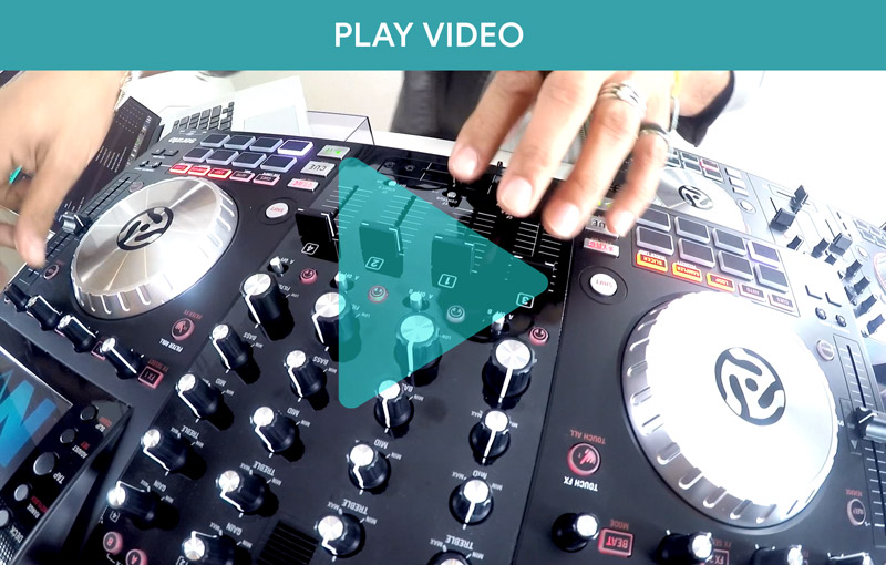 Use Numark Controllers with Flow 8 Deck Video